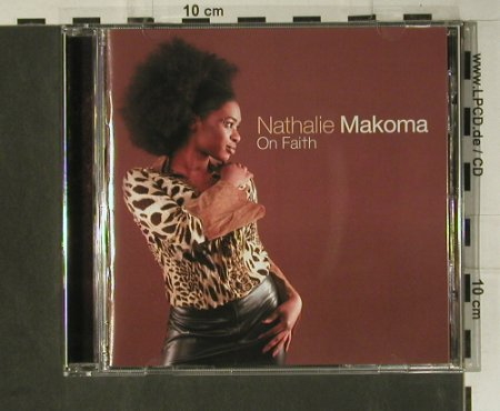 Makoma,Nathalie: On Faith, Edel(), D, 03 - CD - 98575 - 10,00 Euro