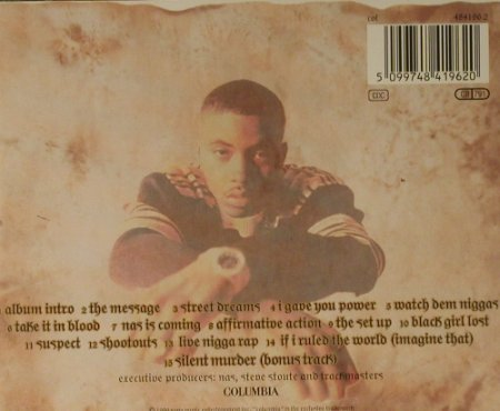 Nas: It Was Written, Columbia(484196 2), A, 1996 - CD - 98643 - 7,50 Euro