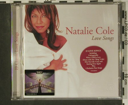 Cole,Natalie: Love Songs, Elektra(), D, 2001 - CD - 99064 - 7,50 Euro