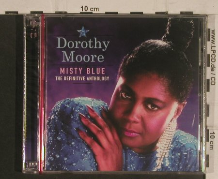 Moore,Dorothy: Misty Blue,Definitive Anthology, Smith&Co.(SCCD 1035), EU,FS-New, 2003 - 2CD - 99539 - 10,00 Euro