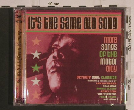 V.A.It's the Same Old Song: More Songs of the Motor City, Castle(CMDDD 617), UK,FS-New, 2003 - 2CD - 99561 - 10,00 Euro
