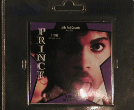 Prince: Little Red Corvette / 1999, WEA(921 184-2), D, 1990 - CD3inch - 99697 - 7,50 Euro