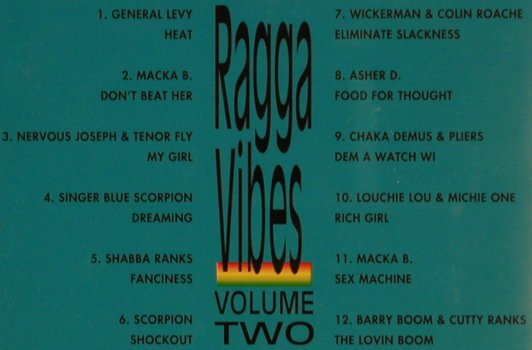 V.A.Ragga Vibes Vol.2: General Levy...Barry Boom, Direct Effect(), D, 1993 - CD - 53527 - 4,00 Euro