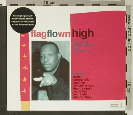 V.A.FlagFlownHigh: The Best of Bobby digital's roots.., Maximum Pressure(MPcd001), , 2002 - CD - 53676 - 7,50 Euro