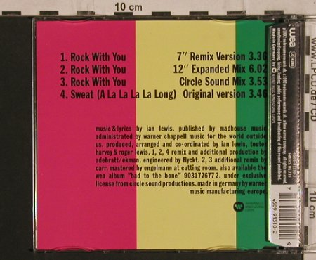 Inner Circle: Rock With You*3+1, WEA(), D, 1992 - CD5inch - 62053 - 2,50 Euro