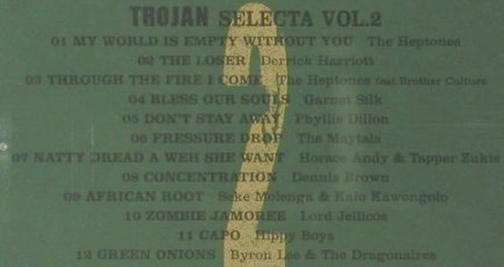 V.A.Trojan Selecta: Vol.2, 12 Tr., Trojan(), UK, 2006 - CD - 63168 - 5,00 Euro