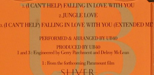 UB 40: (I Can't Help)Falling In Love..*2+1, Virgin(), NL, 93 - CD5inch - 63923 - 1,50 Euro