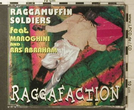 Raggamuffin Soldiers: Raggafaction*3+1, ZYX(), D,  - CD5inch - 64319 - 2,50 Euro