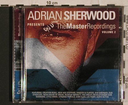 V.A.Adrian Sherwood pres.: The Master Recordings Vol.2, 16 Tr., ON-U(), A,  - CD - 65281 - 6,00 Euro
