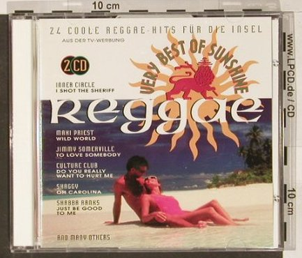 V.A.Very Best Of Sunshine Reggae: 24 Tr., Ultrapop(), D, 94 - 2CD - 68444 - 7,50 Euro