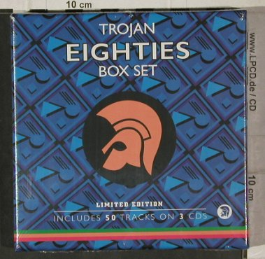 V.A.Trojan Eighties Box Set: Lim.Ed, 50 Tr., FS-New, Trojan(), EU, 2005 - 3CD - 92180 - 14,00 Euro