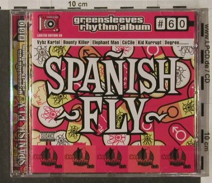 V.A.Greensleeves Rhythm Album: #60, Spanish Fly, FS-New, Greensleeves Rec(GRELcd760), UK, 2004 - CD - 92246 - 7,50 Euro