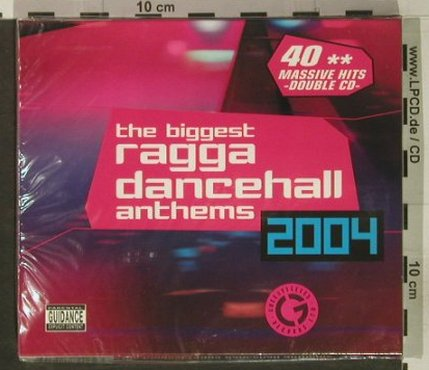 V.A.The Biggest Ragga: Dancehall Anthems 2004, FS-New, Greensleeves Rec(), EU, 2004 - 2CD - 92446 - 10,00 Euro