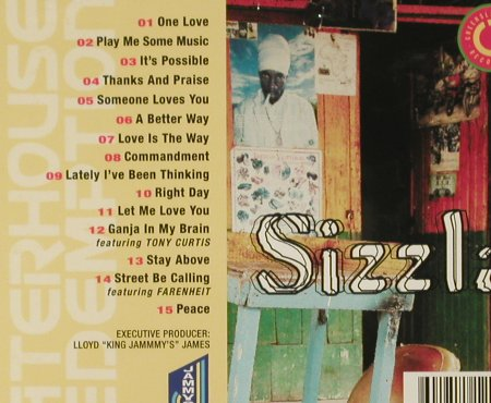 Sizzla: Waterhouse Redemption,FS-New, Greensleeves Rec.(GRELCD291), UK, 2006 - CD - 94071 - 10,00 Euro