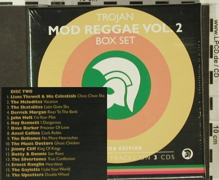 V.A.Trojan Mod Reggae: Vol. 2, Box Set,FS-New, Trojan(), EU, 2005 - 3CD - 94110 - 14,00 Euro