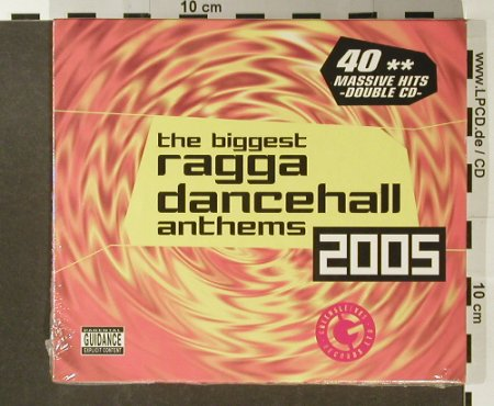 V.A.The Biggest Ragga Dancehall A..: 40 Massive Hits, FS-New, Greensleeves Rec.(GREZCD4008), UK, 2005 - 2CD - 96479 - 10,00 Euro