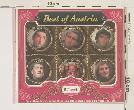 V.A.Best Of Austria: 15 Zuckerln, Digi, BMG(), D, 98 - CD - 57720 - 7,50 Euro