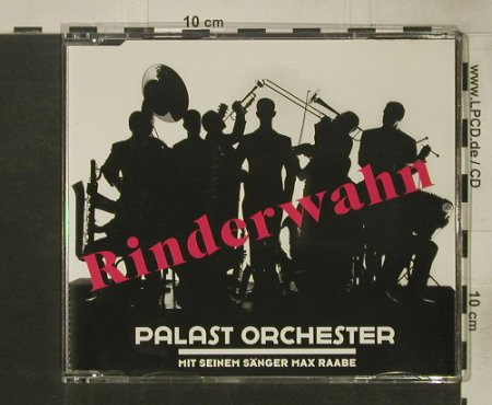 Palast Orchester & Max Raabe: Rinderwahn+2, Monopol(), D, 1997 - CD5inch - 57916 - 2,50 Euro