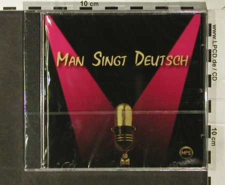 V.A.Mp3 Sampler: Man Singt Deutsch, FS-New, Bandliste.de(MSD 001-2), D, 2005 - CD - 93751 - 7,50 Euro