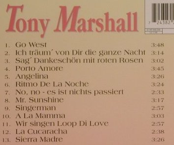 Marshall,Tony: Go West, INT Records(), D, 1995 - CD - 99485 - 5,00 Euro