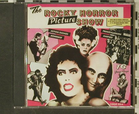 Rocky Horror Picture Show: Orig.Soundtr.,14Tr., Green Line(CDGR 3314), EEC, 1989 - CD - 50010 - 5,00 Euro