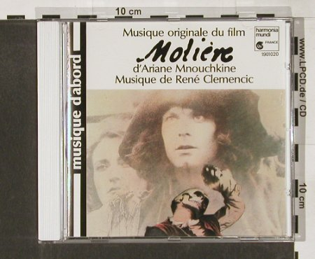 Moliere: 17 Tr. By Clemencic Consort, HarmoniaM.(HMA1901020), D, 89 - CD - 52873 - 7,50 Euro