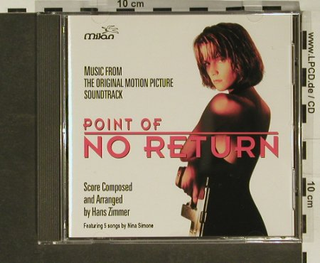 Point Of no Return: 9 Tr. By Hans Zimmer, Milan(), D, 93 - CD - 53015 - 5,00 Euro