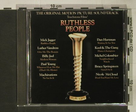 Ruthless People: Original Soundtrack, Epic(70299), A, 1986 - CD - 54071 - 7,50 Euro