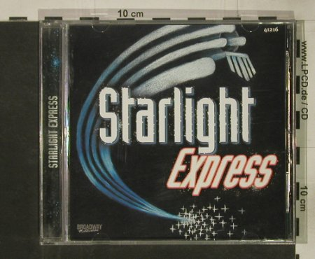 Starlight Express: Highlight from the Musical,12 Tr, Broadway Collection(), UK,  - CD - 54130 - 3,00 Euro
