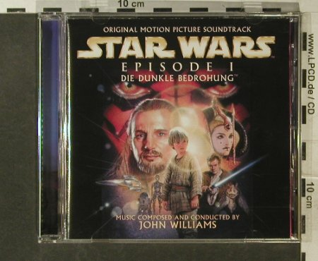 Star Wars Episode 1: by John Williams,Dunkle Bedrohung, Sony(SK 61806), A, 1999 - CD - 54520 - 7,50 Euro