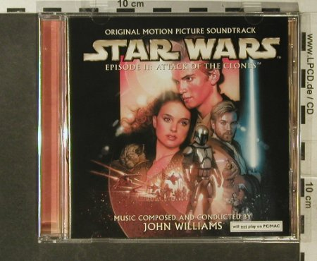 Star Wars Episode II:  Music by John Williams, Sony(SK 89932), A, 2002 - CD - 54566 - 7,50 Euro