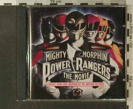 Mighty Morphin Power Rangers: Music From, Atlantic(7567-82777-2), D, 1995 - CD - 54978 - 5,00 Euro