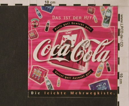 Coca-Cola: Always Coca-Cola+3, Digi, Sondock(), D, 1995 - CD5inch - 56235 - 4,00 Euro