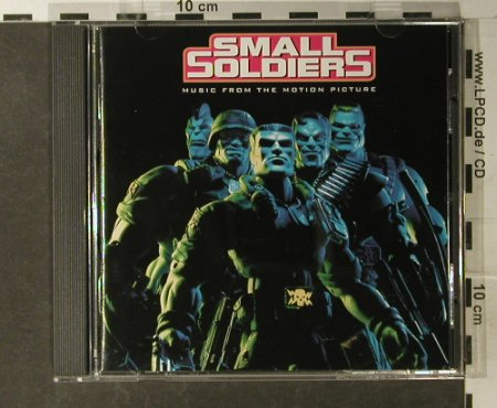 Small Soldiers: Music From, 10 Tr. V.A., Dreamworks(), EEC, 98 - CD - 56533 - 2,50 Euro