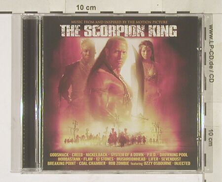 Scorpion King,The: Music From, Universal(), , 2002 - CD - 56844 - 7,50 Euro