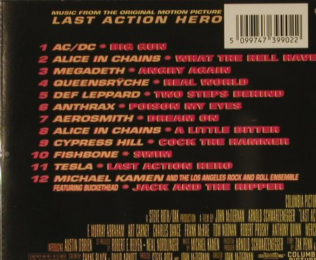 Last Action Hero: Orig Motion Soundtrack, CBS(), A, 93 - CD - 60404 - 4,00 Euro