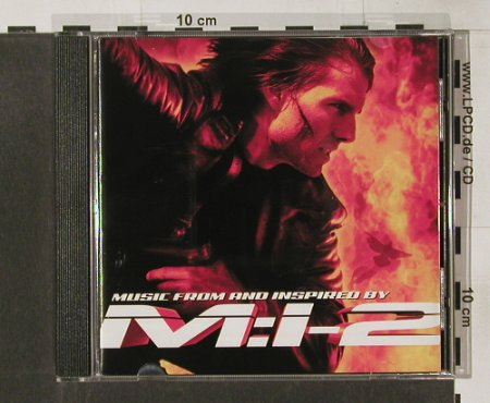 Mission Impossible 2: Music From, Score Hans Zimmer, Hollywood(), D, 00 - CD - 62151 - 7,50 Euro
