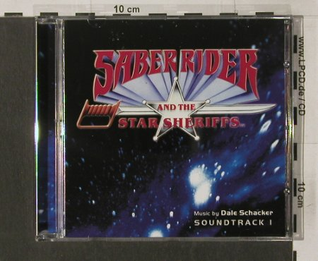 Saber Rider and the Star Sheriffs: Vol.1-Music by Dick Schacker, Colosseum(), , 2004 - CD - 65308 - 10,00 Euro