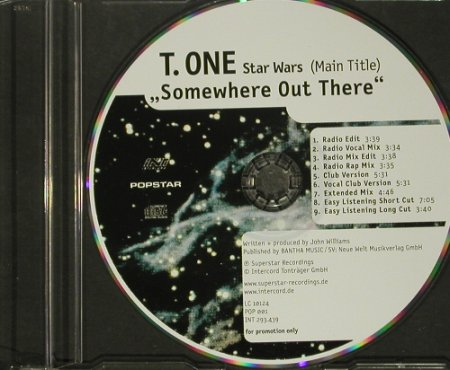 Star Wars: T.One:Somewhere Out There*9NoCover, Superstar(), D,Promo,  - CD5inch - 66359 - 1,00 Euro