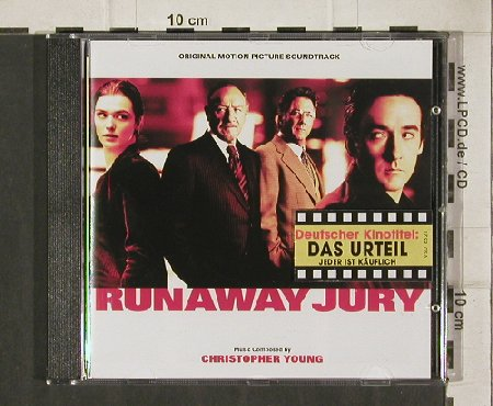 Runaway Jury / Das Urteil: Comp.by Christopher Young, Varese(VSD-6524), D, 2003 - CD - 81182 - 5,00 Euro