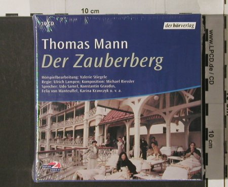 Mann,Thomas: Der Zauberberg, Box, FS-New, Hörverl.(), D, 2000 - 10CD - 90259 - 15,00 Euro