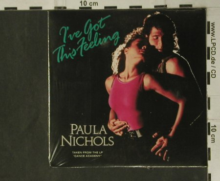 Nichols,Paul: I've got this Feeling+2,Digi,FS-New, CBS(651681 3), A, 1988 - CD3inch - 98776 - 5,00 Euro