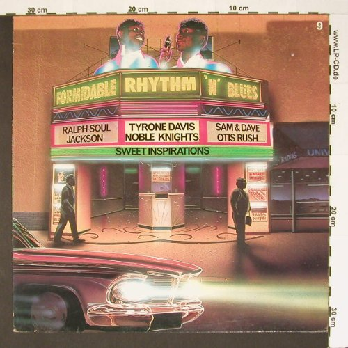 V.A.Formidable Rhythm'n'Blues Vol.9: 13 Tr., Atl. 40259(), F, 72 - LP - B6786 - 5,00 Euro