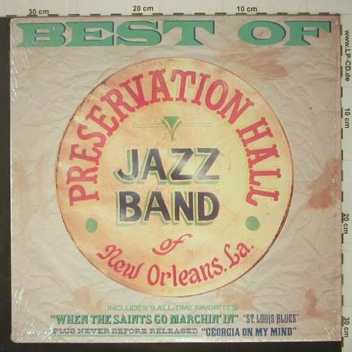 Preservation Hall Jazz Band: Best Of, CBS(FM 44996), US, 1989 - LP - C6721 - 5,00 Euro