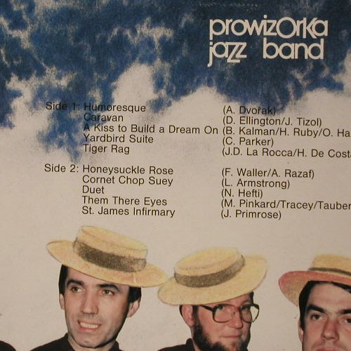 Prowizorka Jazz Band: Humoresque, Timeless(TTD 540), NL, 1987 - LP - C6913 - 5,00 Euro