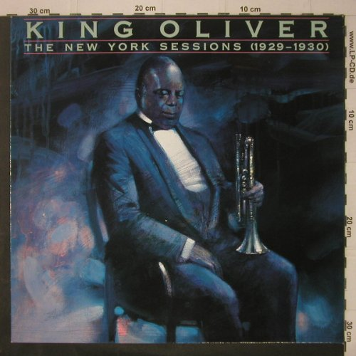 King Oliver: The New York Sessions(1929-1930), Bluebird(NL 90410), D, 1989 - LP - C7077 - 6,00 Euro