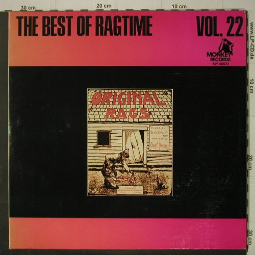 V.A.The Best Of Ragtime Vol.22: 24 Tr., Foc, Monkey(MY 40022), F,  - 2LP - C7194 - 9,00 Euro