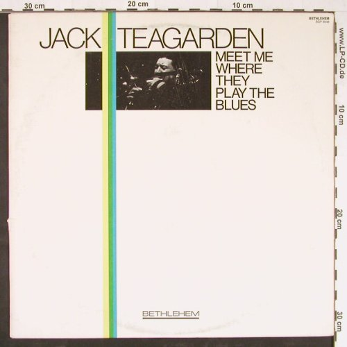 Teagarden,Jack: Meet Me Where They Play The Blues, Bethlehem(BCP 6040), US,vg+/vg+, 1978 - LP - E1120 - 4,00 Euro