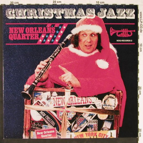 New Orleans Quarter: Christmas Jazz,Foc,red vinyl, NOQ-R(2), D,  - LP - E1256 - 3,00 Euro