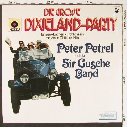 Petrel,Peter und d. Sir Gusche Band: Dixieland Party, FS-New, Ariola(203 902-315), D, 1980 - LP - E1689 - 7,50 Euro